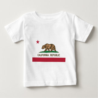 Camiseta Para Bebê Califórnia