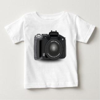 Camiseta Para Bebê Câmara digital