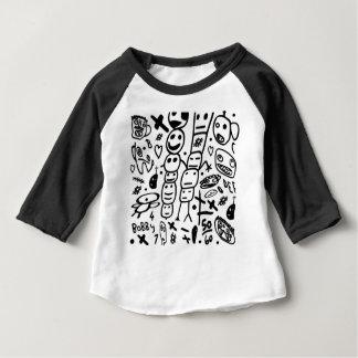 Camiseta Para Bebê Camarão de Zef