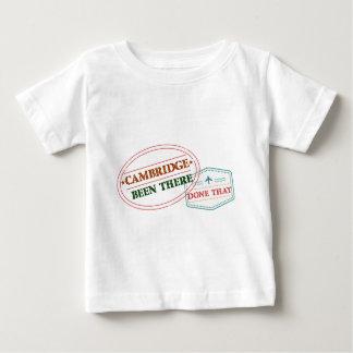 Camiseta Para Bebê Cambridge feito lá isso