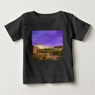 Camiseta Para Bebê Caminhada do deserto