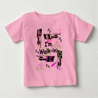 Camiseta Para Bebê Caminhada-In'