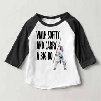 Camiseta Para Bebê Caminhada macia BO