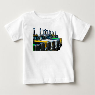Camiseta Para Bebê Caminhões diesel