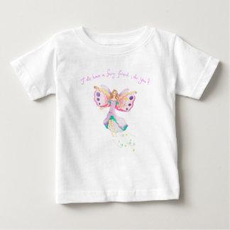 """Camiseta Para Bebê """"Camisa fina do jérsei T do bebê feericamente do"""