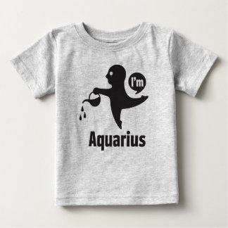 Camiseta Para Bebê Camisetas-Aquário do bebê do zodíaco