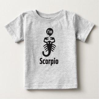 Camiseta Para Bebê Camisetas-Escorpião do bebê do zodíaco