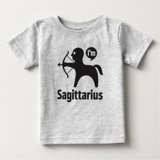 Camiseta Para Bebê Camisetas-Sagitário do bebê do zodíaco