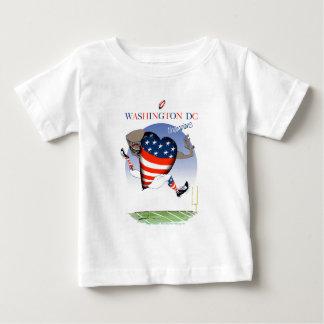 Camiseta Para Bebê Campeões do futebol do Washington DC, fernandes