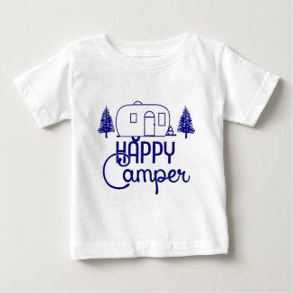 Camiseta Para Bebê Campista feliz 2