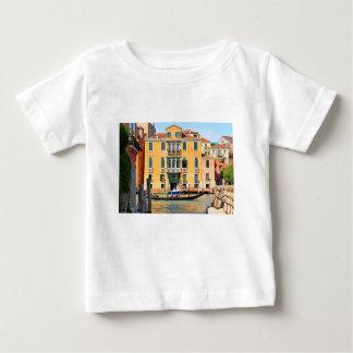 Camiseta Para Bebê Canal grande, Veneza, Italia