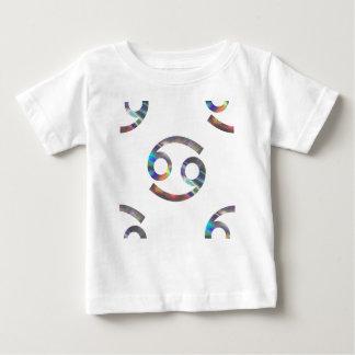 Camiseta Para Bebê cancer do holograma