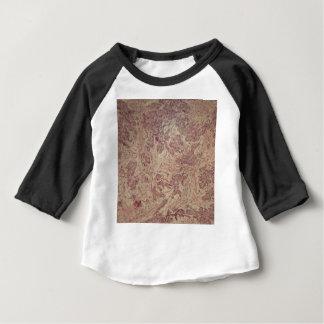 Camiseta Para Bebê Cancro da mama sob o microscópio