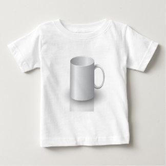 Camiseta Para Bebê caneca 106White _rasterized