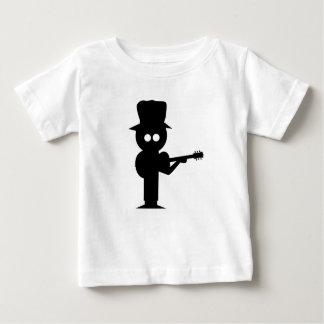 Camiseta Para Bebê Cantor popular do menino