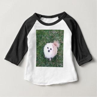 Camiseta Para Bebê Cão bonito