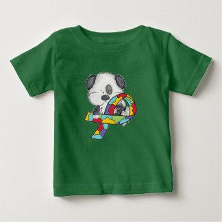 Camiseta Para Bebê Cão da consciência do autismo