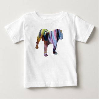 Camiseta Para Bebê Cão de Bull