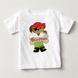 Camiseta Para Bebê Cão do Co-Pirata