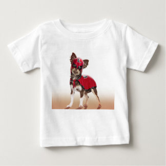 Camiseta Para Bebê Cão do libre de Lucha, chihuahua engraçada,