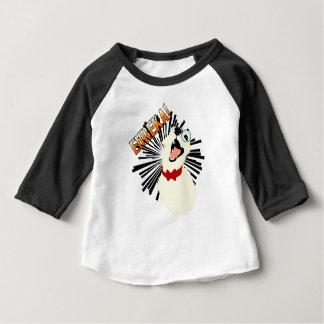 Camiseta Para Bebê Cão do nerd