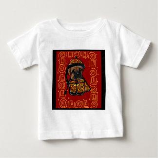 Camiseta Para Bebê Cão do pugilista do ano