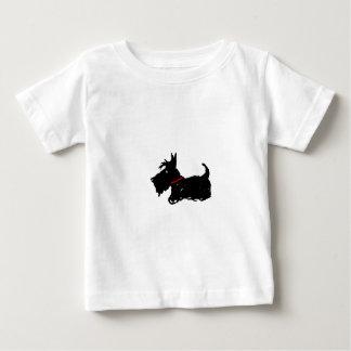 Camiseta Para Bebê Cão do Scottie
