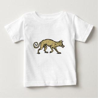 Camiseta Para Bebê Cão irritado