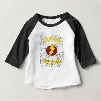 Camiseta Para Bebê capitão impressionante
