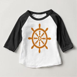 Camiseta Para Bebê Capitão Roda