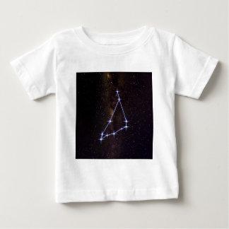 Camiseta Para Bebê Capricórnio do sinal da estrela