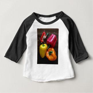 Camiseta Para Bebê Capsicum…