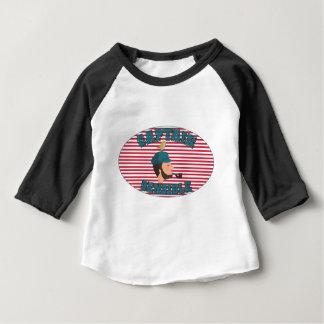 Camiseta Para Bebê Captaine Sensível