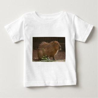 Camiseta Para Bebê Capybara