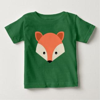 Camiseta Para Bebê Cara bonito do Fox dos desenhos animados