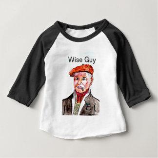 Camiseta Para Bebê Cara sábia