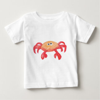 Camiseta Para Bebê caranguejo