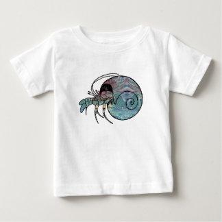 Camiseta Para Bebê Caranguejo de eremita