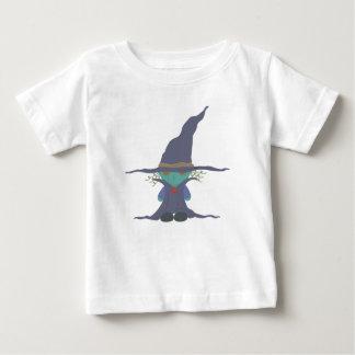 Camiseta Para Bebê Caráter da bruxa do Dia das Bruxas