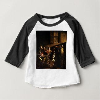 Camiseta Para Bebê Caravaggio - a chamada de St Matthew