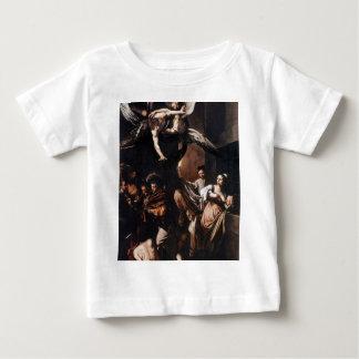 Camiseta Para Bebê Caravaggio - os sete trabalhos da pintura do