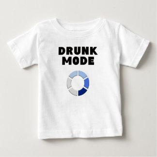 Camiseta Para Bebê carga bêbeda do modo, presente engraçado do design