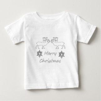Camiseta Para Bebê Caribus