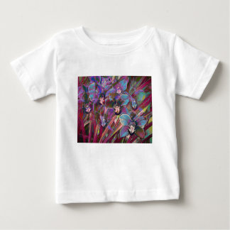 Camiseta Para Bebê Carnaval da orquídea do Cymbidium