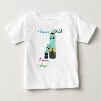 Camiseta Para Bebê Caro pai