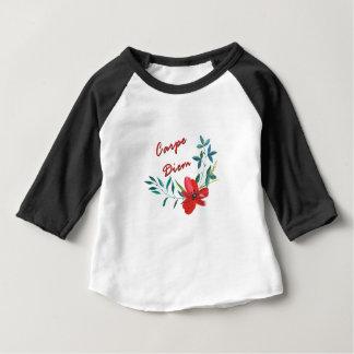 Camiseta Para Bebê Carpe Diem
