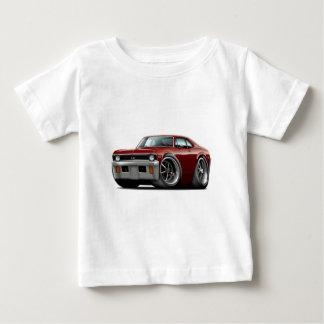 Camiseta Para Bebê Carro 1971-72 marrom da nova