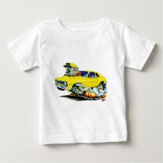 Camiseta Para Bebê Carro 1971-74 amarelo da nova