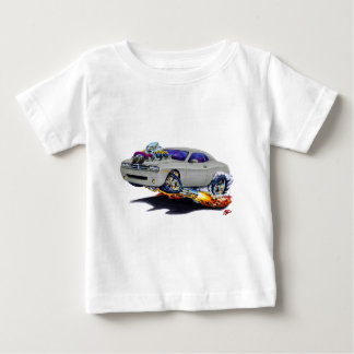 Camiseta Para Bebê Carro 2008-10 do cinza do desafiador