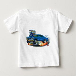 Camiseta Para Bebê Carro do azul de 1965 GTO